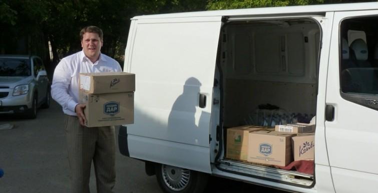 Измаильские судоремонтники отправили помощь в АТО