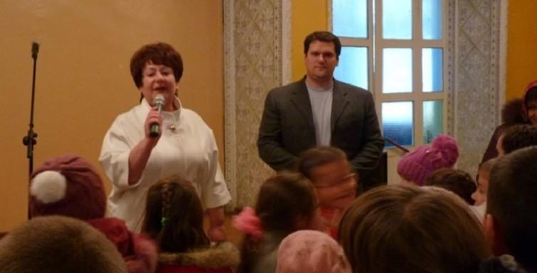 Александр Урбанский поздравил жителей Богатого с Днем села