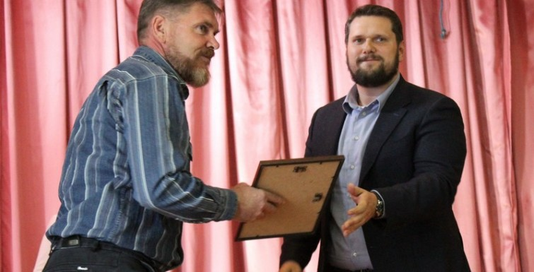 Александр Урбанский поздравил измаильских портовиков с 205-летием их предприятия