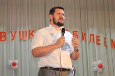 Александр Урбанский поздравил с юбилеем детсад в Кирничках