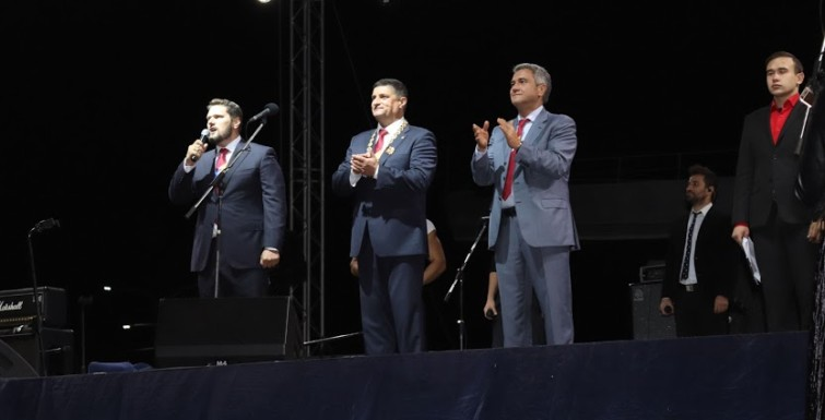Александр Урбанский поздравил жителей Измаила с Днем города
