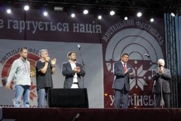 Александр Урбанский и Павел Унгурян посетили фестиваль «Украинская Бессарабия»