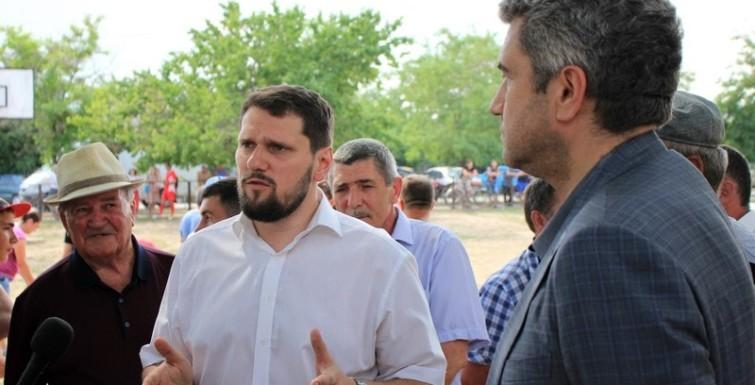 Александр и Анатолий Урбанский посетили празднование 279-летия Лиманского